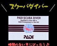 PADIスクーバダイバーコース