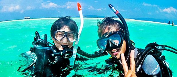 石垣島の体験ダイビングはグローバルダイブへ